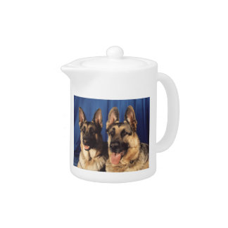 German Shepherd Dog Teapot