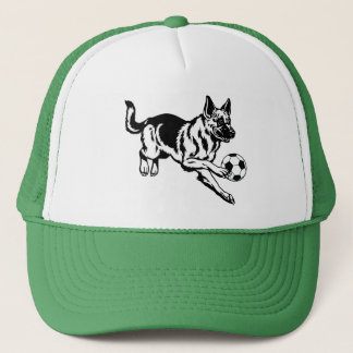 german shepherd dog trucker hat