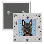 German Shepherd Dog Tshirts and Gifts Pinback Button