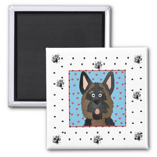 German Shepherd Dog Tshirts and Gifts Refrigerator Magnets