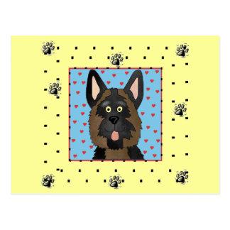 German Shepherd Dog Tshirts and Gifts Postcard