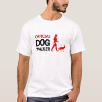 German Shepherd Dog walker T-shirt