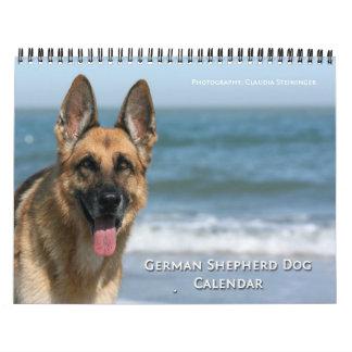 German Shepherd Dog wall calendar