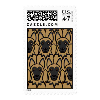 German Shepherd Dogs Postage