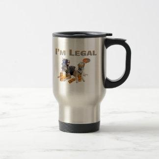 German Shepherd Drink Legally Travel Mug