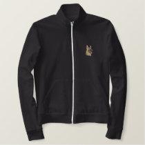 German Shepherd Embroidered Jacket