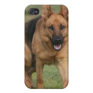 "German Shepherd Female ""Gilla"" Covers For iPhone 4"