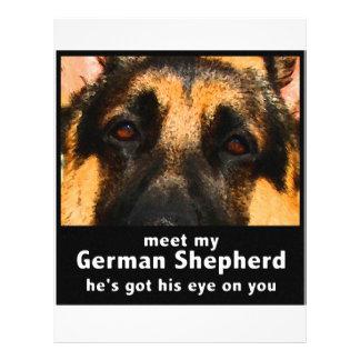 German Shepherd Custom Flyer