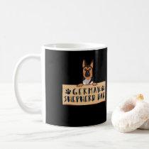German Shepherd German Sheperd Dad  Dog Mom Coffee Mug