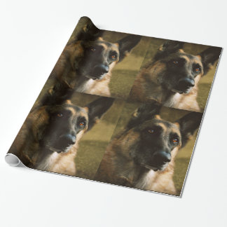 German Shepherd Gift Wrapping Paper
