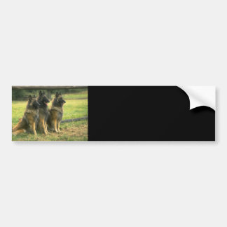 German Shepherd Gifts Bumper Sticker