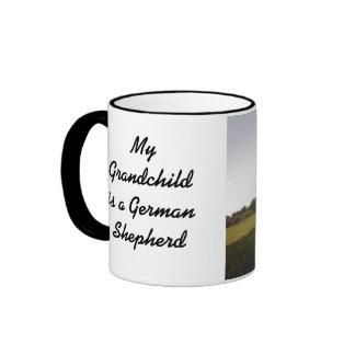 German Shepherd Grandchild Mug