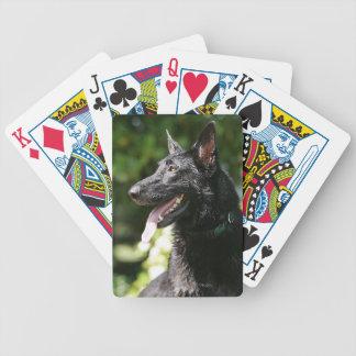German Shepherd Headshot 2 Card Decks