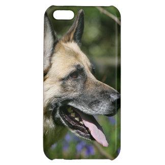 German Shepherd Headshot 3 iPhone 5C Cases