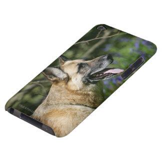 German Shepherd Headshot 3 iPod Case-Mate Case