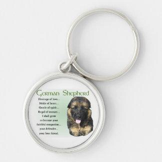 German Shepherd Heritage of Love Key Chains
