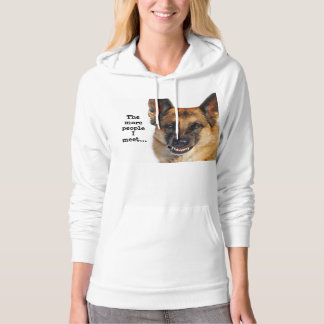 German Shepherd Hooded Sweatshirt