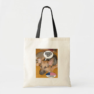 German Shepherd Humor Tote Bag