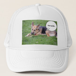 German shepherd Humor Trucker Hat