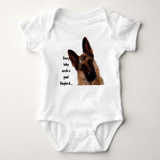 German Shepherd Infant Creeper