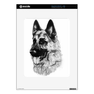 German Shepherd iPad Decals