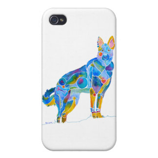 German Shepherd iPhone 4-4S Cases and Covers Covers For iPhone 4