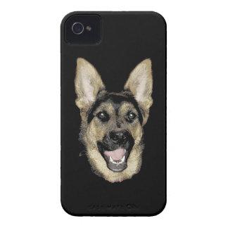 German Shepherd iPhone 4 Case-Mate Case