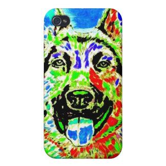 German Shepherd Cover For iPhone 4