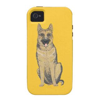 German Shepherd iPhone cases customize iPhone 4 Case
