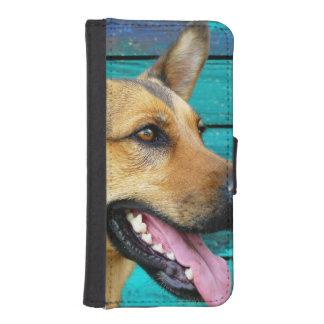 german shepherd iPhone SE/5/5s wallet case