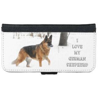 German Shepherd iPhone Wallet Case