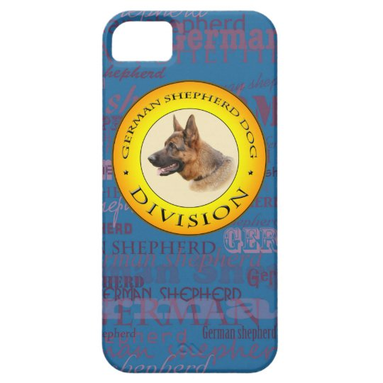 German shepherd iPone 5 case