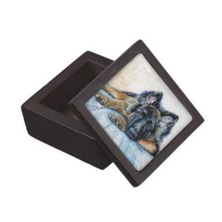 German Shepherd Jewelry Box