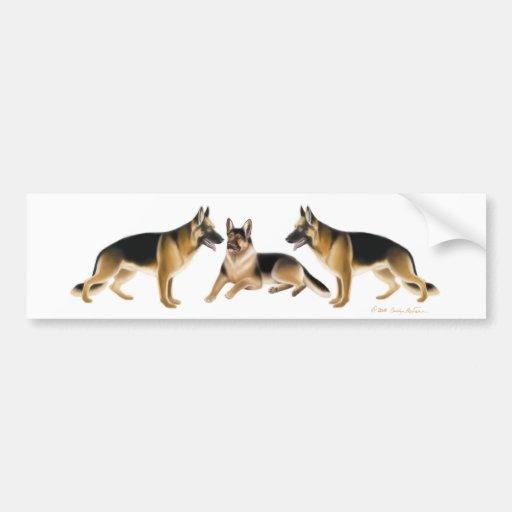 German Shepherd K9 Bumper Sticker