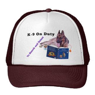 German Shepherd K9 On Duty Hat