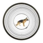 German Shepherd K9 Police Dog Food Bowl Pet Bowl