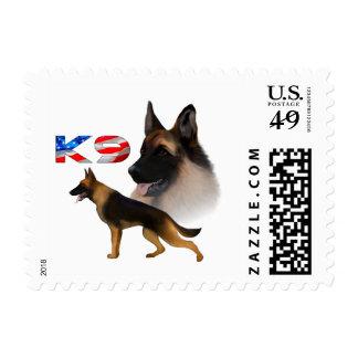 German Shepherd K9 Stamp