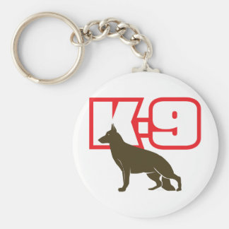German Shepherd K-9 Key Chain