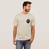German Shepherd K-9 Unit Double Sided T-Shirt