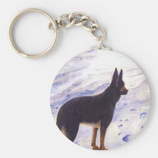 German Shepherd, Key Chain