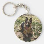 German Shepherd Keychain