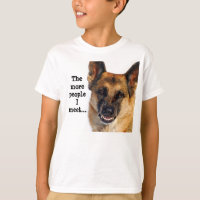 German Shepherd Kid's T-Shirt