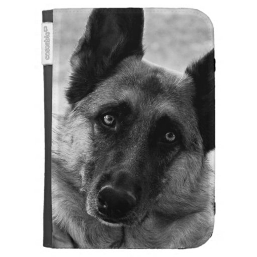 German Shepherd Kindle Case
