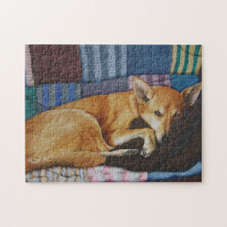 German Shepherd labrador realist art jigsaw puzzle Puzzles