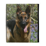 German Shepherd Laying Down iPad Case