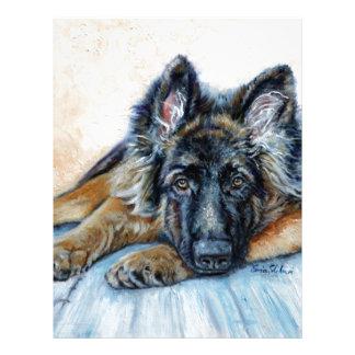 German Shepherd Letterhead