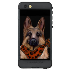 LifeProof® NUUD® for iPhone® 6S Plus Case with German Shepherd Phone Cases design