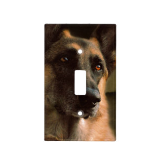 German Shepherd Light Switch Cover