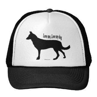 German Shepherd Love Me, Love My Dog Trucker Hat