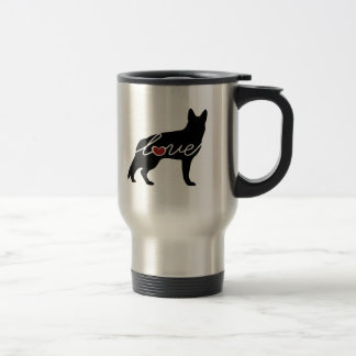 German Shepherd Love Travel Mug